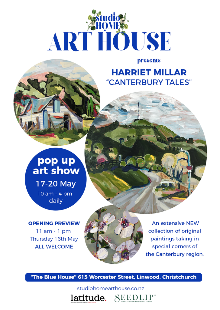 "Studio Home ART HOUSE: Harriet Millar ""Canterbury Tales"", Christchurch, New Zealand"
