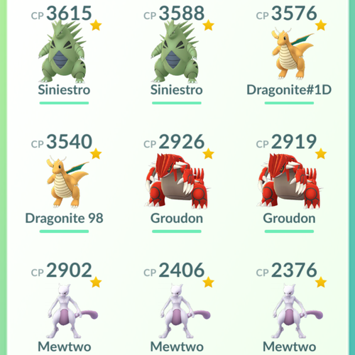 Legendary Account - 36 level - Team Valor #252