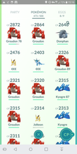 Load image into Gallery viewer, Legendary Account - 36 level - Team Mystic #261