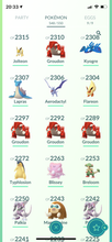 Load image into Gallery viewer, Legendary Account - 35 level - Team Valor #442