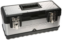 "RoadPro SST00715 15"" Stainless Steel Tool Box with Removable Tray"