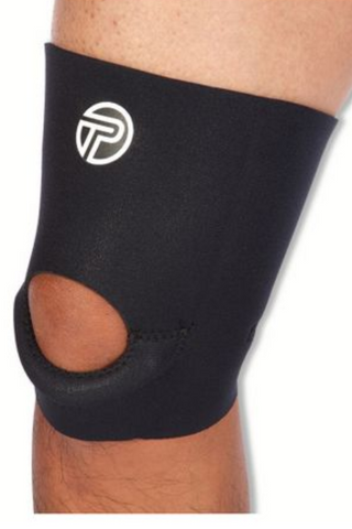 PRO-TEC ATHLETICS SHORT SLEEVE KNEE SUPPORT INJURY PREVENTION & RECOVERY