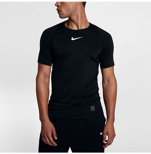 MEN'S NIKE PRO FITTED SHORT SLEEVE