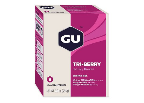 GU ENERGY GEL 8 PACK