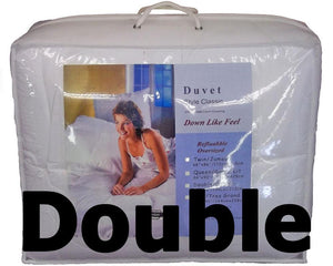 Synthetic Down Like Duvet - Double Size (76