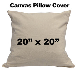 Canvas Pillow cover 20