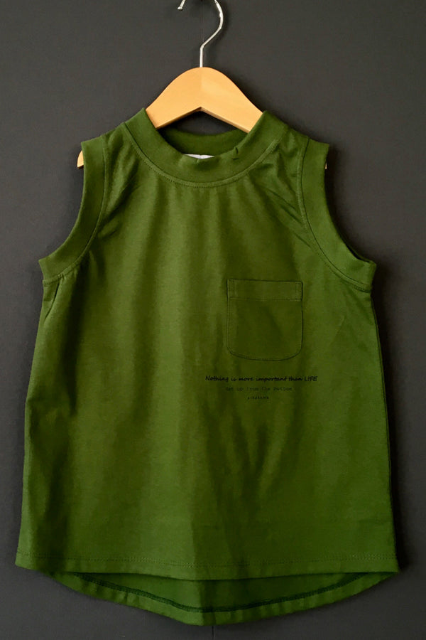arkakama COLOR WIDE TankTop FOREST GREEN