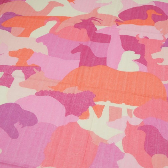 Maruju Blanket Animal (Pink / Multi Colours) - TA-DA!