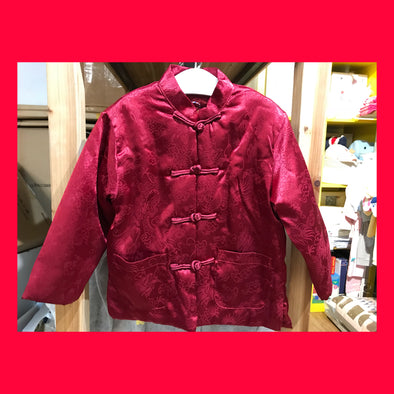 CouCou Chinese Coat (Dragon) (Red) - TA-DA!