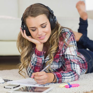 listen music while study