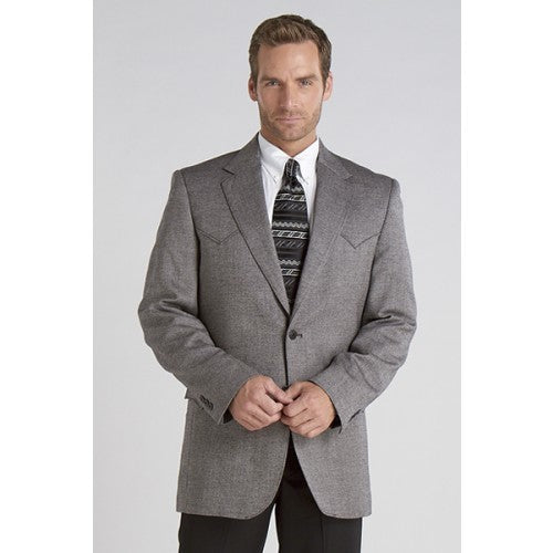 Circle S Men's Apparel - Plano Sportcoat - Donegal Black - RR Western Wear, Circle S Men's Apparel - Plano Sportcoat - Donegal Black