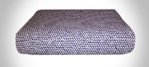 Blue Dots Elastic Cushion Cover - Square Shaped