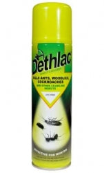 Dethlac Lacquer Aerosol Spider Killer Spray