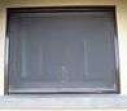 Retractable Window Fly Screen - Kit 1B Brown Alu