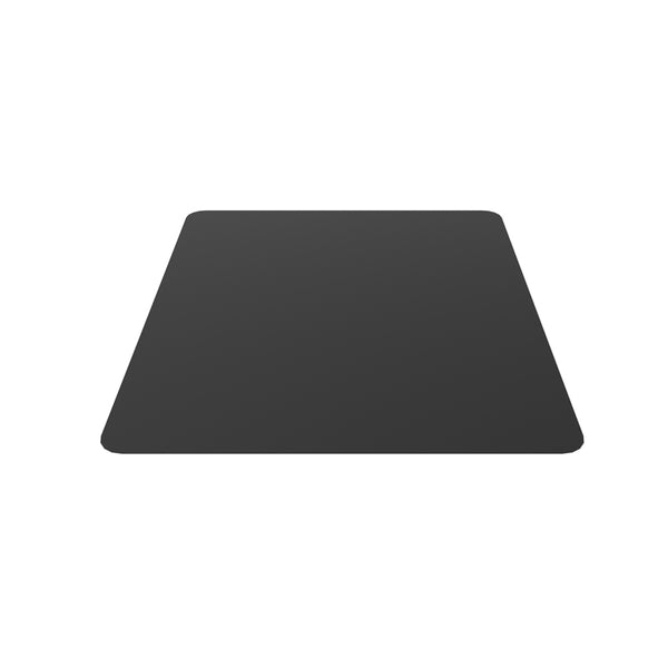 Black Steel Hearth Pad