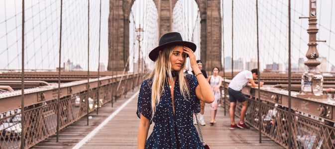 being a New York fashion tourist | Shimansky