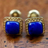 Openwork Square Stud Earrings