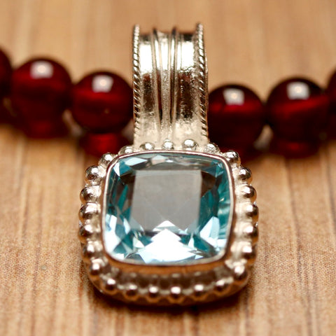 Madeline Blue Topaz Necklace