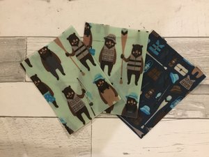 Beeswax Wraps – Scrap Mini Set of 3