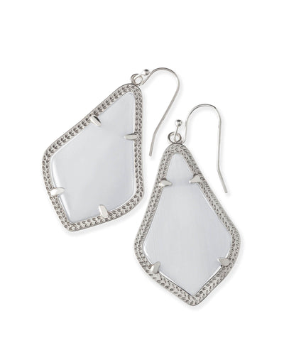 Kendra Scott Silver Drop Earrings