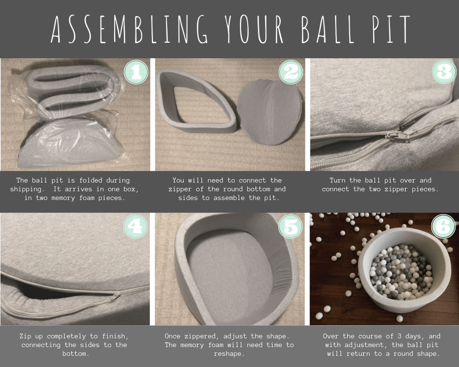 Assembling Your Ball Pit