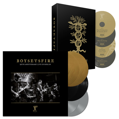 "BOYSETSFIRE ""20th Anniversary Live In Berlin"" Vinyl Box + DVD Box Bundle"
