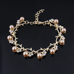 Wedding Pearl Bracelet in 5 Colors