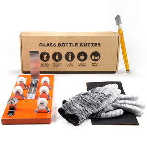 Bottle Cutter & Glass Cutter Bundle