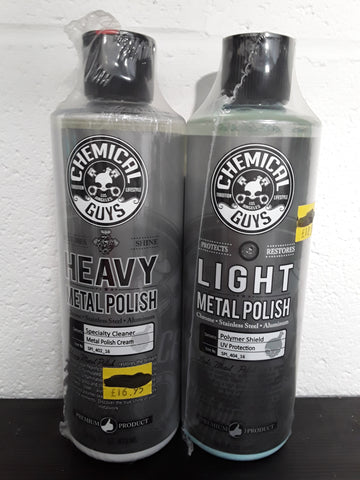 CHEMICAL GUYS METAL POLISH & PROTECTION KIT