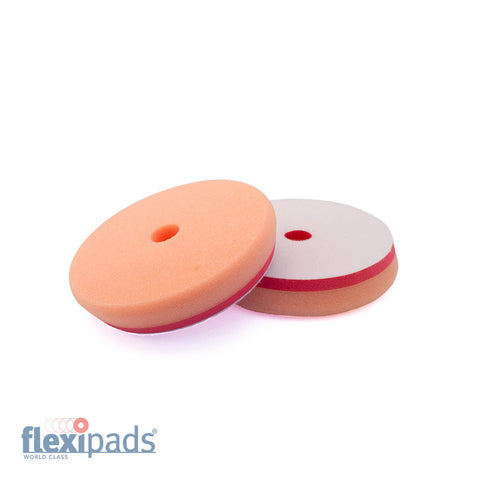 FLEXIPADS VIPER ORANGE MEDIUM CUTTING PAD 5.5 INCH