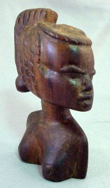 Beautiful Nigerian Woman Statue