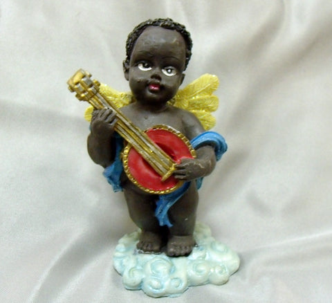 Black Banjo Angel