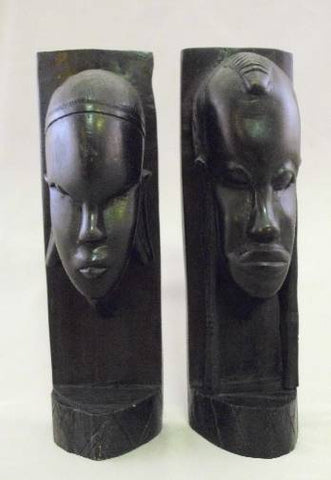 Masaai Couple Bookends