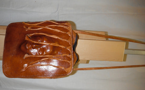 Leather Face Bag