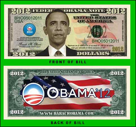 Barack Obama 2012 Commemorative Dollar
