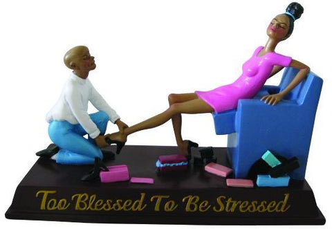 Too Blessed To Be Stressed - Shoe Store