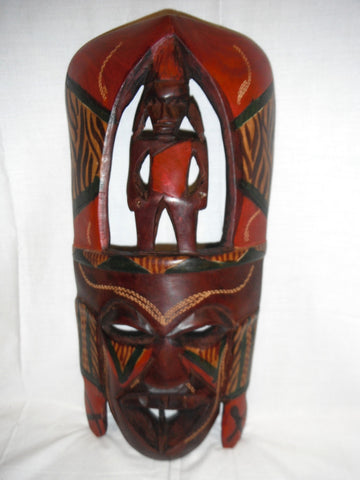 Kenyan Warrior Mask