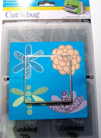 Closeout - Cuttlebug - Embossing Folders  - Build A Flower (4)
