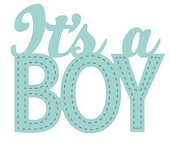 Sue Wilson Designs - New Arrival Collection - It's A Boy