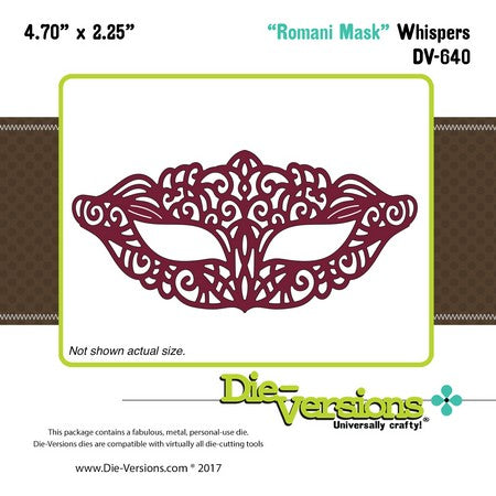 Die-Versions - Whispers - Romani Mask