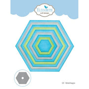 Elizabeth Craft Designs - Dies - Stitched Hexagons