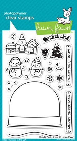 Lawn Fawn - Ready, Set, Snow Stamps