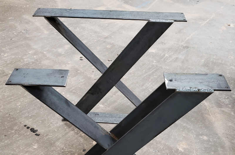 Custom Welded Table Stands