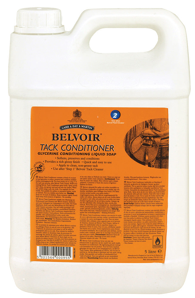 Belvoir Tack Conditioner (5L) - Carr & Day & Martin - Breeches.com