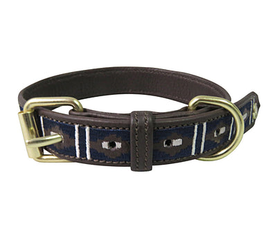 Dog Collar - Leather with Kelly Dog Collar - Halo - Breeches.com