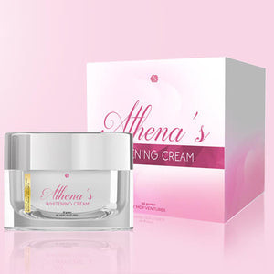 I love Athena's Whitening Cream