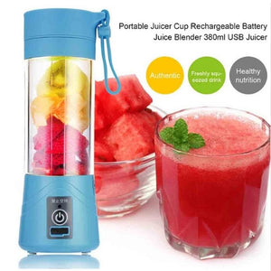Mini Blender Portable, Machine à Jus, milk-shake et Smoothies rechargeable USB