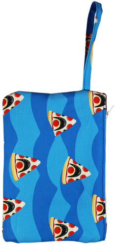 Pizza Shark Wristlet