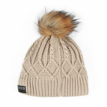 Load image into Gallery viewer, Bluetooth Beanie W/ Faux Fur Pom