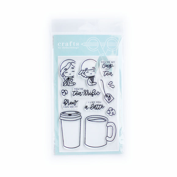 Tea-rrific Stamp Set (TLL1001)